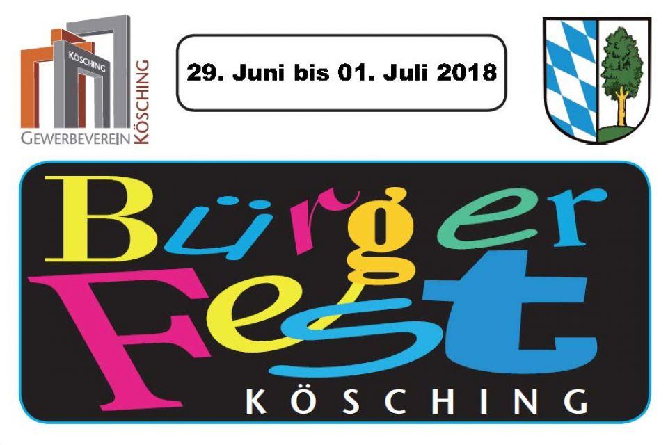 25. Köschinger Bürgerfest 2018