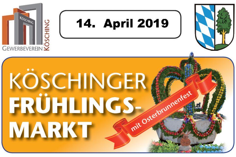 Köschinger Frühlingsmarkt mit Osterbrunnenfest