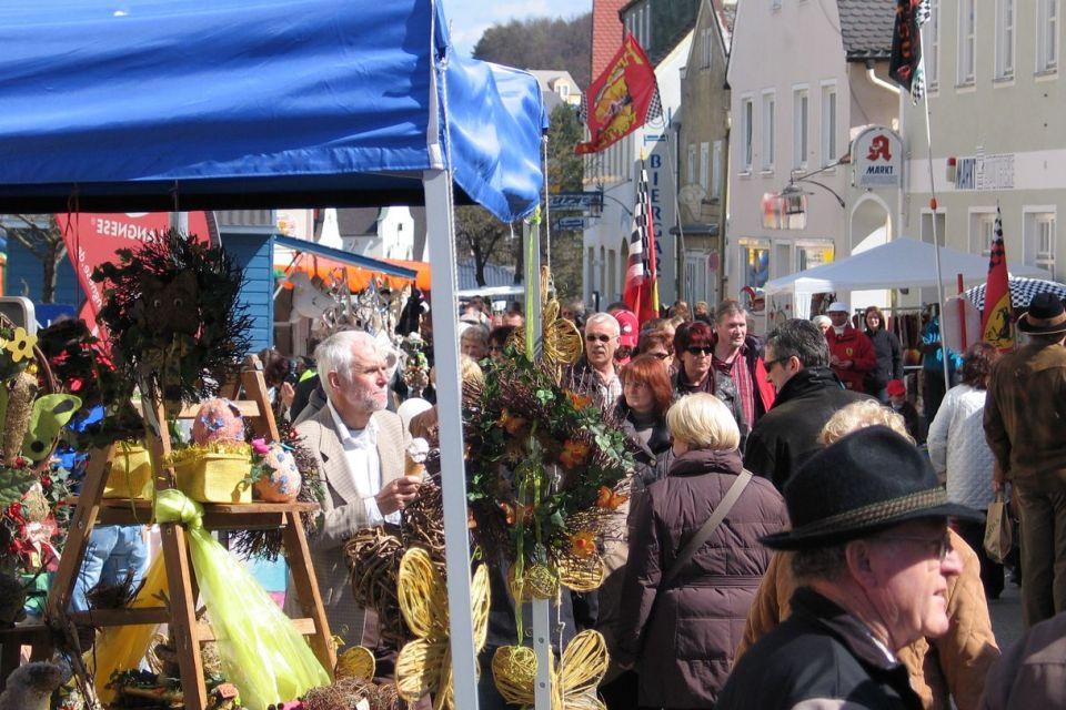 Köschinger Frühlingsmarkt am 9. April 2017