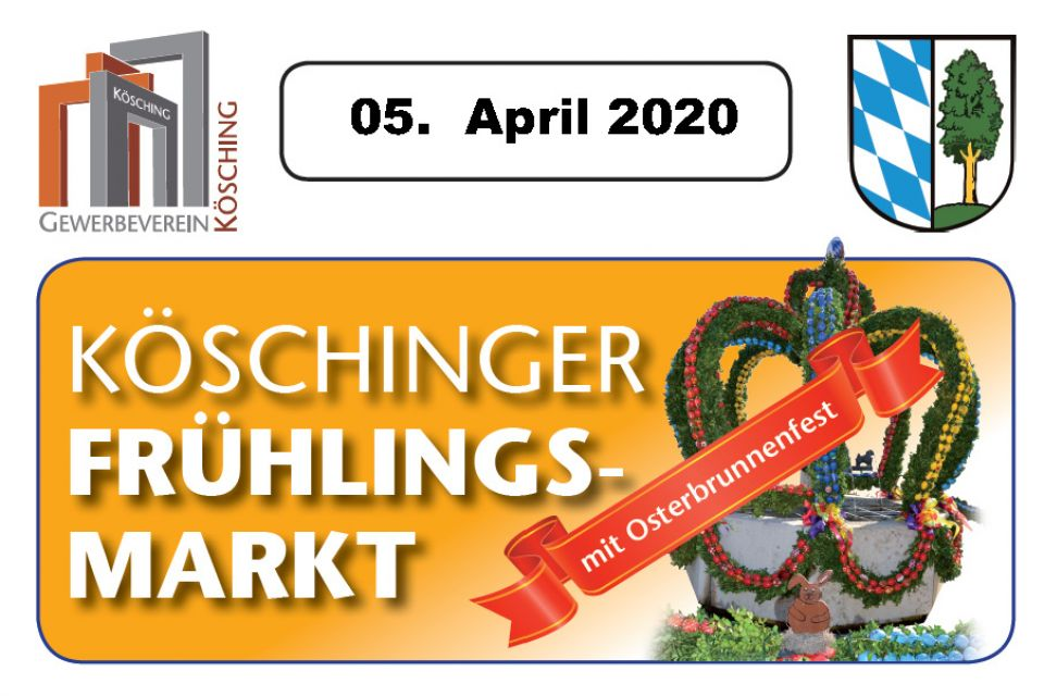 Köschinger Märkte in 2020