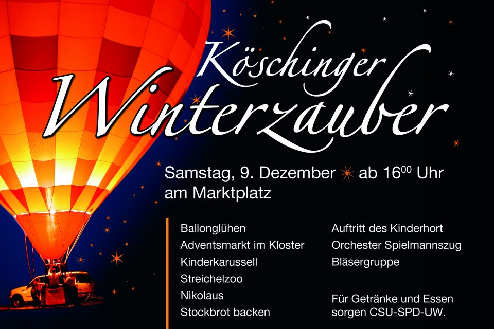 Köschinger Winterzauber